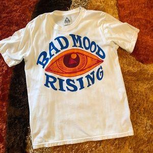 UNIF Bad Mood Rising Tee Sz M